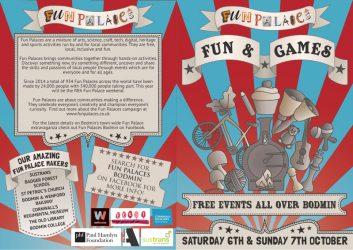 Fun Palaces 2018 bespoke artwork and graphic design