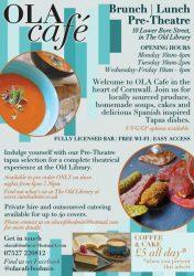 Ola Cafe Leaflet