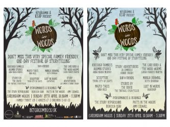 Words in Woods poster
